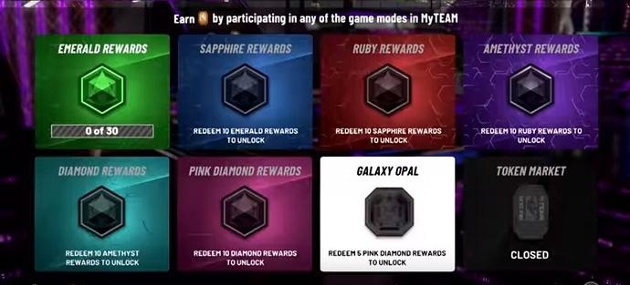 NBA 2k20 Token Rewards